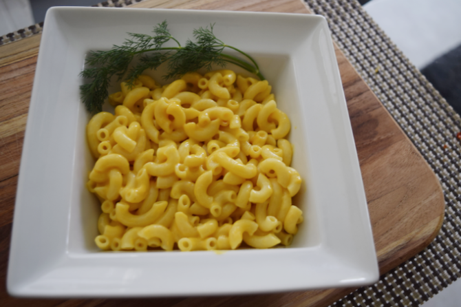Recipe: Dairy Free Macaroni and Cheese